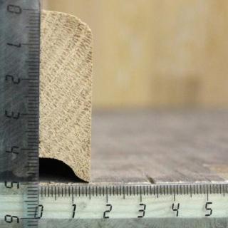 Плинтус прямой 50мм Высший сорт