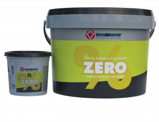 Двухкомпонентный эпоксидно-полиуретановый клей для паркета без растворителей  ZERO% A + B 10 кг (уп.)